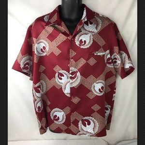 Tori Richard Mens Hawaiian Aloha Shirt XL Floral